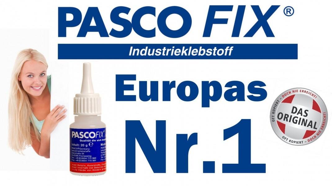 PASCOFIX - Evropská jednička mezi sekundovými lepidly